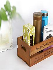 中空木化粧品収納ボックス多機能デスクトップ靴下の収納ボックス
