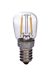 1個 YouOKLight E14 2W 2 COB 200 lm 温白色 B edison ビンテージ デコレーションライト 交流220から240 V