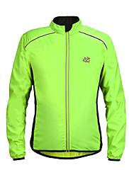 Cyklo bunda Unisex Jezdit na kole Větrovky Dres sako Vrchní část oděvu Rychleschnoucí Větruvzdorné Lehké materiály Reflexní pásky100%
