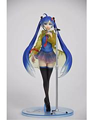 Anime Čísla akce Inspirovaný Vocaloid Hatsune Miku PVC 23 CM Stavebnice Doll Toy