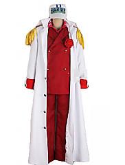 z jednoho kusu liščí ref admirál Akainu mořského jednotné cosplay kostým