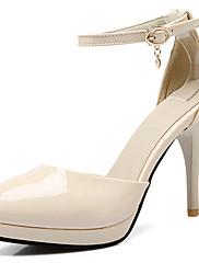 Ženske cipele-Salonke / štikle-Ured i karijera / Formalne prilike-Lakirana koža / Umjetna koža-Stiletto potpetica-Štikle / D'Orsay cipele