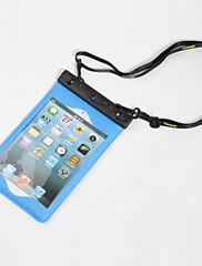 Suché Boxy iPad / Voděodolný Potápění a šnorchlování. Černá PVC