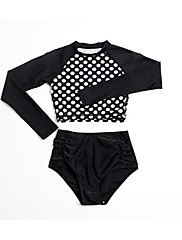 Dámské Voděodolný Prodyšné Odolný vůči UV záření Lehké materiály LYCRA® Diving Suit Sady oblečení/Obleky-Plavání Potápění SurfingJaro