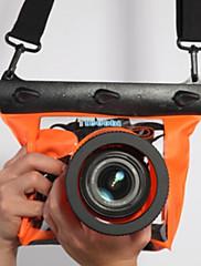 Suché pytle Suché Boxy Voděodolný Pouzdro na fotoaparát Potápění a šnorchlování. PVC Černá
