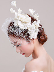 Žene Til Basketwork Net Glava-Vjenčanje Special Occasion Neformalan Outdoor Fascinators 1 komad