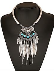 Dámské Obojkové náhrdelníky Náhrdelníky s přívěšky Prohlášení Náhrdelníky Slitina Bohemia Style Přizpůsobeno Prohlášení o šperky Módní