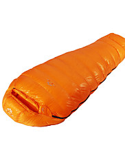 Sleeping Bag Mummy Bag Single -35 Duck Down 2000g 210X80 Hiking / Camping KEEP WARM LMR