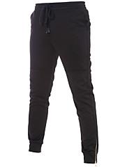 Dámské Aktivní Aktivní / Kalhoty chinos Bavlna Elastické Kalhoty