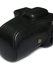 6d pouzdro pro fotoaparát Canon 6d DSLR (černá / hnědá / káva)