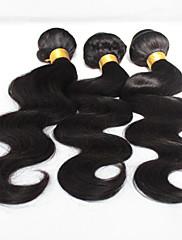 Lidské vlasy Vazby Brazilské vlasy Vlnité 12 měsíců Jeden díl Vazby na vlasy