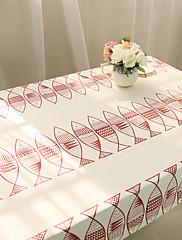 方形 動物 テーブルクロス , コットンブレンド 材料 ホテルのダイニングテーブル / 表Dceoration