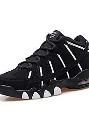 Atletické boty-Tyl PU-Pohodlné-Dámské-Černá Růžová Bílá-Běžné Atletika-Plochá podrážka