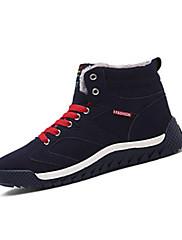 Atletické boty-Tyl PU-Pohodlné-Pánské-Černá Modrá Zelená-Běžné Atletika-Plochá podrážka