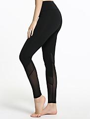 Mulheres Feminino Corrida Meia-calça Calças Fitness, Corrida e Yoga Secagem Rápida Respirabilidade Capilaridade Calças Push Up
