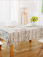 方形 パターン柄 テーブルクロス , リネン 材料 表Dceoration / ホテルのダイニングテーブル