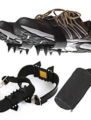 crampones al aire libre / cuatro dientes de la cadena contra los zapatos hoja de la cubierta / montaña / crampones simples