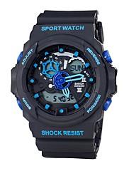 Pánské Sportovní hodinky Vojenské hodinky Chytré hodinky Módní hodinky Náramkové hodinky japonština DigitálníLED Hodinky s dvojitým časem