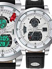 Per uomo TeenOrologio sportivo Orologio militare Orologio elegante Orologio alla moda Orologio da polso Orologio braccialetto Creativo