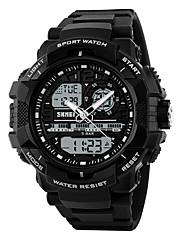 SKMEI Pánské Sportovní hodinky Digitální hodinky Digitální PU Kapela Černá