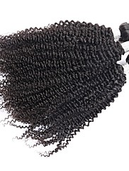 Lidské vlasy Vazby Mongolské vlasy Kinky Curly 12 měsíců 3 Vazby na vlasy