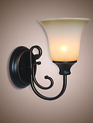 E26/E27 Starožitný Země vlastnost Rozptýlené světlo nástěnné svítidlo