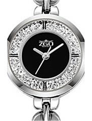 Mulheres Relógio de Moda Quartzo Impermeável Lega Banda Prata