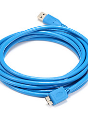 USB 3.0 Kabel, USB 3.0 to USB 3.0 Micro-B Kabel Han - Han 1.5M (5ft)