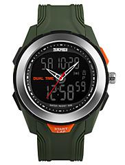 Pánské Sportovní hodinky Digitální hodinky Digitální PU Kapela Černá Zelená