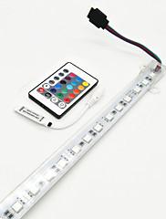 15W Světelné tyče LED 700-800 lm DC12 V 1 m 72 lED diody RGB
