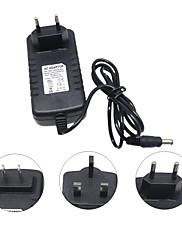Hkv® dc 12v do střídavého napětí 110-240v 3a uk zástrčka nás zástrčka eu zástrčka napájení osvětlení transformátor transformátor přepínač