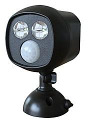 doodda hw101s-2 2ledランプ屋外赤外線中庭ボディセンサーライトは、ソーラーナイトライト防水を導いた