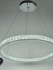 Anel redutor dimmable levou teto pingente luz lustres modernos iluminação lâmpada interior com controle remoto