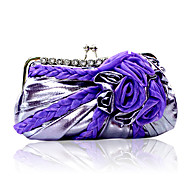 Gorgeous Satin Shell With Austrian Rhinestones Evening Handbags/ Clutches More Colors Available