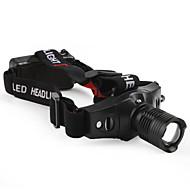 Osvětlení LED svítilny / Čelovky LED 210 Lumenů 3 Režim Cree XR-E Q5 10440 / AAANastavitelné zaostřování / Taktický / Kompaktní velikost