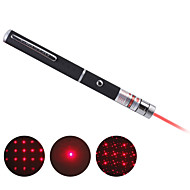 Multi-point Red Star Laser Pointer Pen (Include 2 AAA batteries)