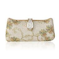 Satin With Rhinestone/ Glitter Evening Handbags/ Clutches More Colors Available