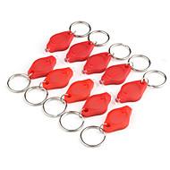 Lights Key Chain Flashlights Small Size / Super Light / Compact Size Plastic