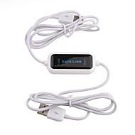 nemt kopiere data link USB-kabel (hvid)