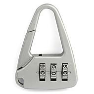 Cadeado para Mala Cadeado com Código fechamento codificado Mini Tamanho para Acessório de BagagemBranco Preto Vermelho Verde Azul