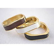 Unisex Bracelets  In Alloy And Imitation Leather (More Colors)