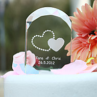 Cake Toppers Personalized Crystal Arched  Cake Topper