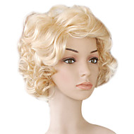 Capless Top Grade Quality Synthetic Short Curly Wig
