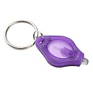 Lights Key Chain Flashlights Ultraviolet Light Plastic