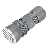 Iluminação Lanternas LED / Lanterna de Luz Negra / Lanternas de Mão LED 50 Lumens 1 Modo - AAA Liga de Aluminio
