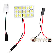 T10 ba9s 0.18wx15 투명한 빛 15 SMD 5050 LED 자동차 독서 등 (DC 12V)