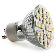 GU10 3.5 W 24 SMD 5050 150 LM Warm White MR16 Spot Lights AC 220-240 V