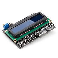 16 x 2 LCD blindage du clavier (pour Arduino) uno méga duemilanove