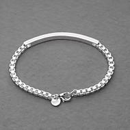 Men's/Unisex/Women's I.D. Bracelet Alloy