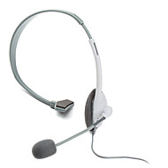 Classic Microphone Headset for Xbox 360 (White)